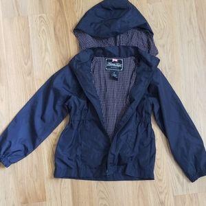 French Toast blue windbreaker jacket coat